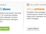 what is affilorama packages