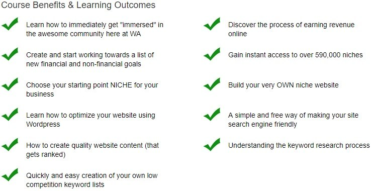 Online Entrepreneur Certification - Benefits Outcomes