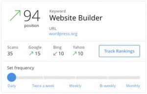 Jaaxy keyword tracking