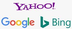 Yahoo Bing Google