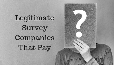 Legitimate Survey Companies That Pay