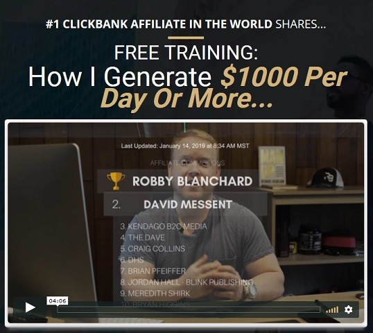 top earning clickbank affiliates